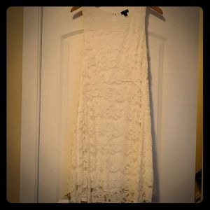 Torrid - Off White Lace Dress Size 10